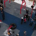 В Домодедово открыли уникальный воркаут в рамках проекта «Детский спорт»