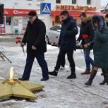 В Спас-Клепиках почтили память участников битвы под Москвой
