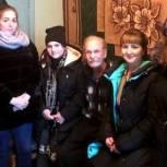 В Свободном активисты «Молодой Гвардии Единой России» навестили пенсионера