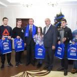 В Рыбновском районе детям-сиротам вручили ключи от квартир