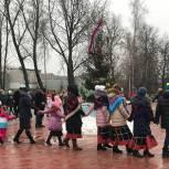 В Скопине организовали рождественские колядки
