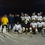 В Скопине открыли хоккейный сезон