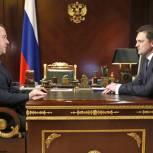 Медведев призвал «Почту России» обрабатывать посылки с помощью передовых технологий