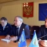 Депутаты НС РД Висампаша Ханалиев и Ризван Голоев с рабочим визитом посетили г.Хасавюрт