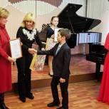 Оксана Пушкина и Лариса Лазутина посетили отчетный концерт в музыкальной школе Звенигорода