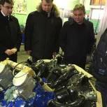 Максим Сураев посетил авиационно-ремонтный завод в Балашихе