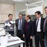 Владимир Кононов посетил центр по созданию инновационных лекарств в Черноголовке