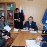 В школе села Екатериновка пройдет оснащение кабинета рисования после обращения в местное отделение «Единой России»