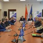Андрей Чураков и Сергей Юдаков встретились с членами и руководителями фракций «Единая Россия»