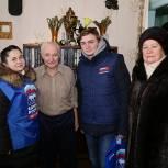 Луховицкие единороссы, молодогвардейцы и сторонники партии поздравили ветеранов ВОВ с 23 февраля