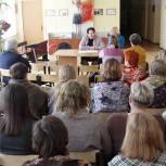 Елена Митина посетила Рыбновский район