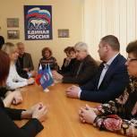 Юрий Олейников посетил Каширу в рамках региональной недели