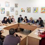 Оксана Пушкина обсудила со звенигородцами демографические инициативы президента