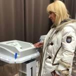 Депутат Государственной думы Оксана Пушкина проголосовала в Барвихе
