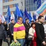 В Саранске прошел праздничный митинг-концерт