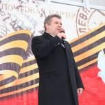 В Центральном районе Барнаула отметили День Победы
