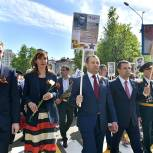 Председатель Мособлдумы поблагодарил жителей Подмосковья за активное участие в акции «Бессмертный полк»