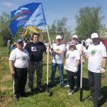 Эколого-патриотическую акцию «Лес Победы» активно поддержали жители и партийцы Красногорска