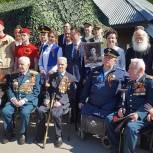 Галина Уткина приняла участие в акции «Бессмертный полк» в Красногорске