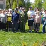Владимир Вшивцев принял участие в акции «Лес Победы» в Ярополецком сельском поселении