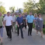 Депутаты-единороссы проводят встречи с жителями Воскресенского района