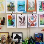 В «Детском экологическом центре» прошёл конкурс-выставка творческих работ «Сохраним Земли очарование»