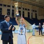 В Смоленске подвели итоги школьного баскетбольного турнира