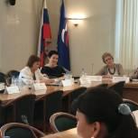 Деловая встреча в женском клубе Государственной Думы