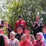 В Михайловском районе провели фестиваль «Весело да громко казаки поют»