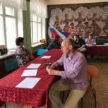 Игорь Дрожжевкин посетил счетный участок в поселке Листвянка