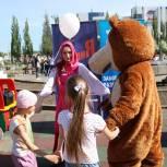 Обновленная спортплощадка и флешмоб: как прошел праздник детства