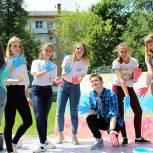 Молодогвардейцы Подмосковья провели более 30 акций в День России