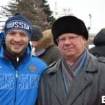 На проводы зимы «Единая Россия» организовала спортивные мероприятия для сотен саратовцев