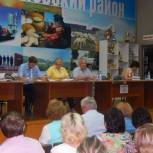В Бессоновке прошло общественное обсуждение пенсионного законодательства