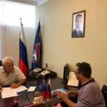 Обращения граждан в приемной Партии рассмотрел депутат Магди Айналов