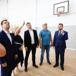 Сергей Юров: Строительство школы в микрорайоне 1 мая в Балашихе идет хорошими темпами