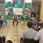 Александр Легков встретился с молодежью Красноармейска