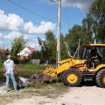 В Касимове очистили пруд