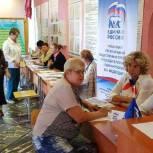 Специалисты общественной приемной партии приехали в Борки