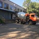 После обращения в общественную приемную «Единой России» в школе проведены ремонтные работы