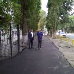 «Единая Россия» помогла школе в Заводском районе подготовиться к началу учебного года