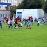 В Белгороде прошёл самый массовый матч в истории области