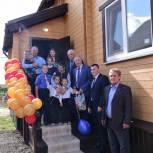 Семья Поповых из Заводоуковска стала тринадцатой семьей, получившей новое жилье в рамках партпроекта