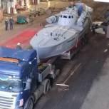До торжественного открытия памятника торпедному катеру в Тюмени осталось меньше месяца