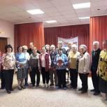 Химкинские сторонники провели просветительское мероприятие с пожилыми людьми