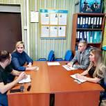 Для новых секретарей первичных отделений «Единой России» прошел обучающий семинар