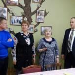 Андрей Ходосевич встретился с активистами местного отделения Союза пенсионеров