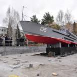 Тюмень готовится к открытию памятника торпедному катеру