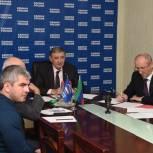 Сайгидахмед Ахмедов принял участие в заседании Совета руководителей фракций «Единой России» в режиме видеоконференцсвязи