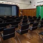 """В деревне Рочево появился новый зрительный зал благодаря партийному проекту """"Культура малой Родины"""""""